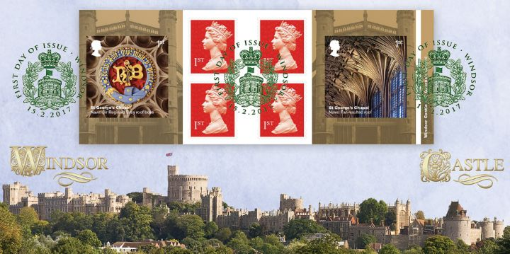 Self Adhesive: Windsor Castle, Panoramic view of Windsor Castle