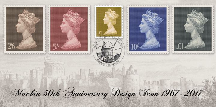 PSB: Machin Design Icon - Pane 5, Windsor Castle