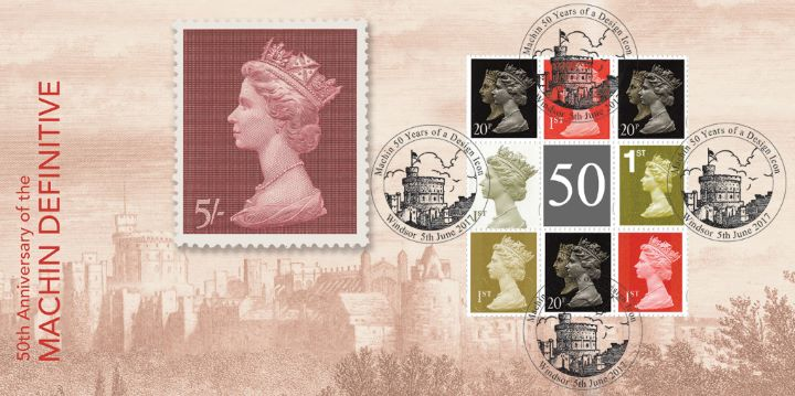 PSB: Machin Design Icon - Pane 4, Windsor Castle