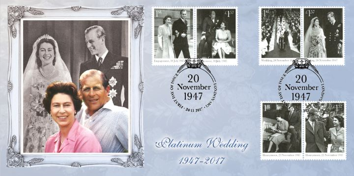 Platinum Wedding: Miniature Sheet, The Queen & Prince Phillip