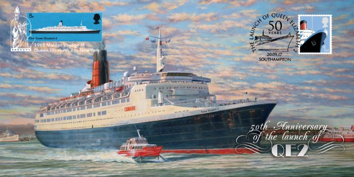 Queen Elizabeth 2 Launch, 50th Anniversary