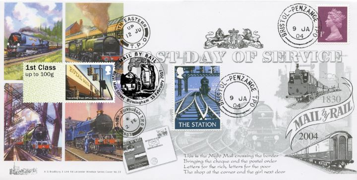 Travelling Post Office, Penzance-Bristol TPO