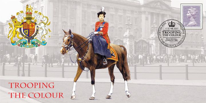 Trooping the Colour, HM The Queen on Horseback