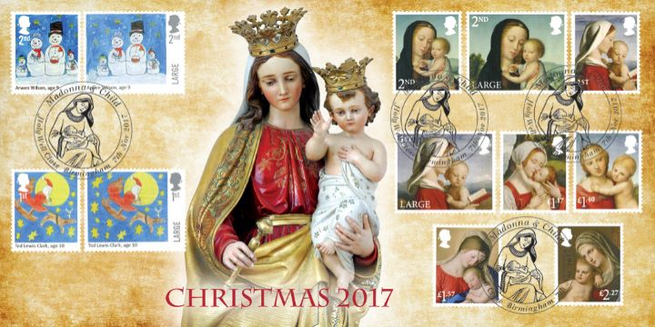Christmas 2017, Madonna and Child