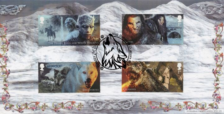 Game of Thrones: Miniature Sheet, Winter Landscape