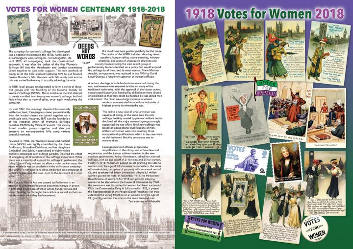 Votes for Women, History of the Suffragette Movement