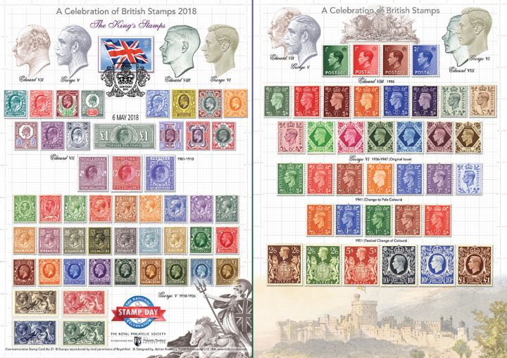 National Stamp Day 2018, A Celebration of British Stamps