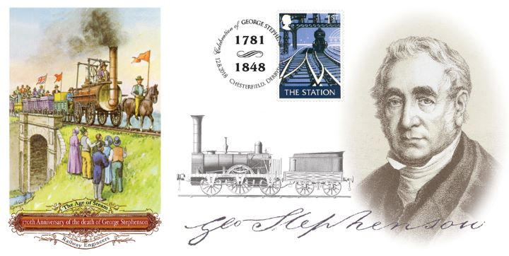 George Stephenson, 170th Anniversary of Birth