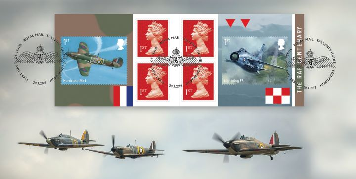 Self Adhesive: RAF Centenary, Hurricanes