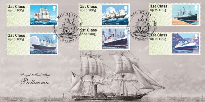 Mail by Sea, Royal Mail Ship Britannia