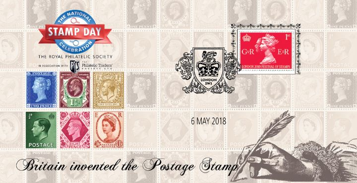 National Stamp Day, Britain invented the Postage Stamp