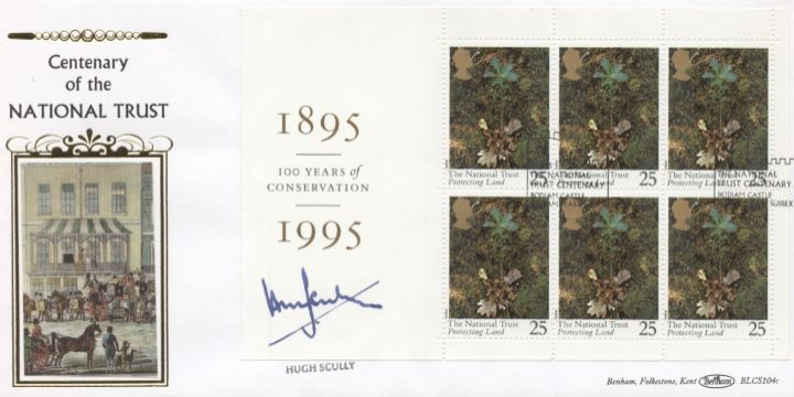 PSB: National Trust, Hugh Scully Signed