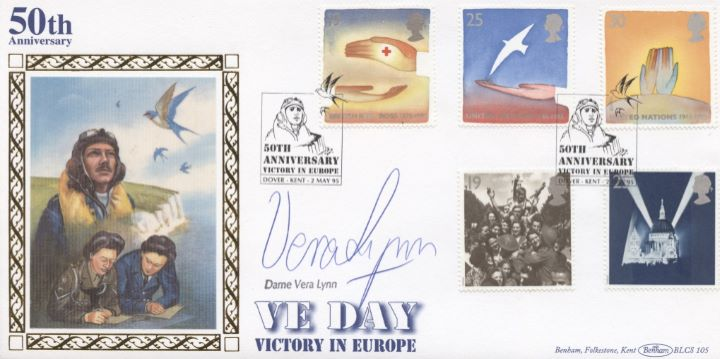 Peace and Freedom, Dame Vera Lynn Signed
