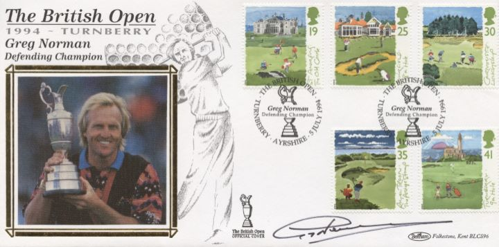 Golf, Greg Norman Signed