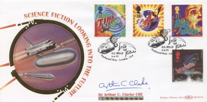 Science Fiction, Arthur C Clarke Signed