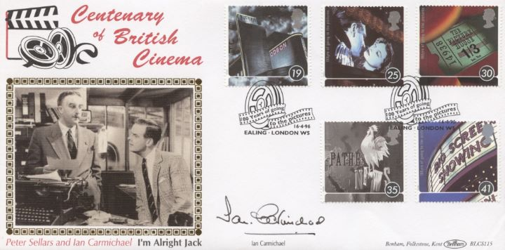 Cinema Centenary, Ian Carmichael signed