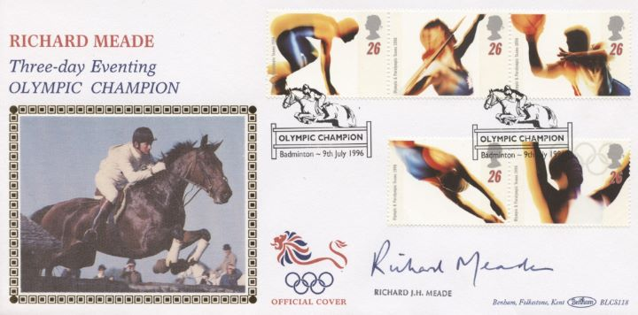 Olympic Games 1996, Richard Meade signed
