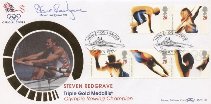 Olympic Games 1996, Steve Redgrave signed