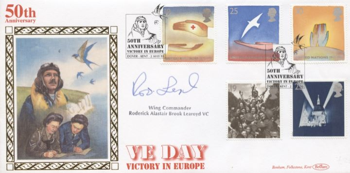 Peace and Freedom, Signed VE Day