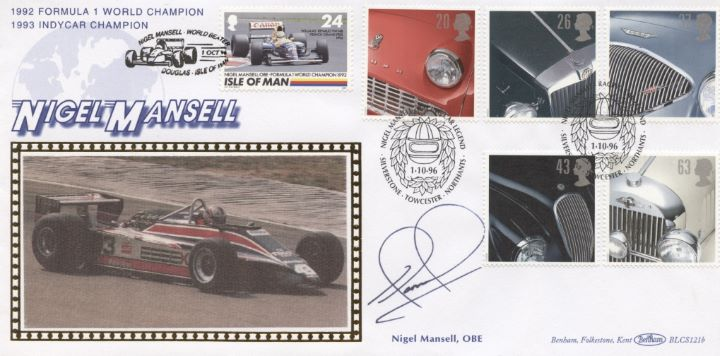 Classic Cars, Nigel Mansell Signed
