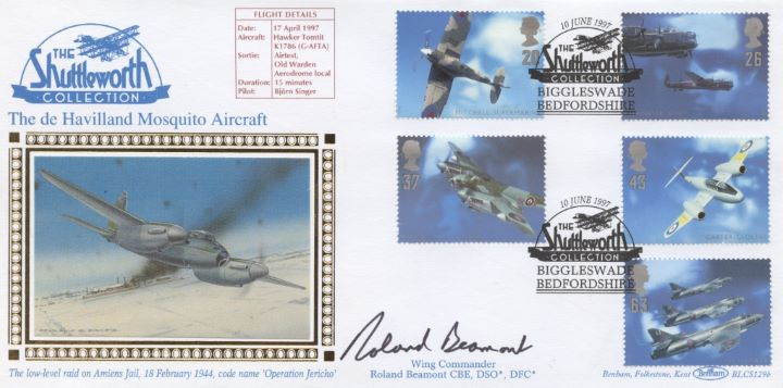 Architects of the Air, Signed Cover
