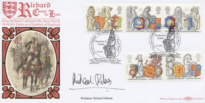 Queen's Beasts, Prof Richard Holmes signed