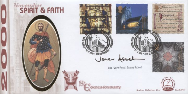 Spirit & Faith, The Very Revd James Atwell signed