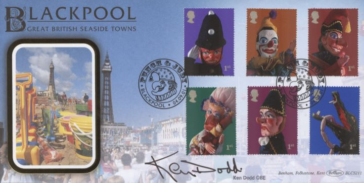 Punch & Judy, Ken Dodd signed