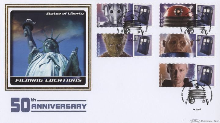 Doctor Who: Generic Sheet, Statue of Liberty