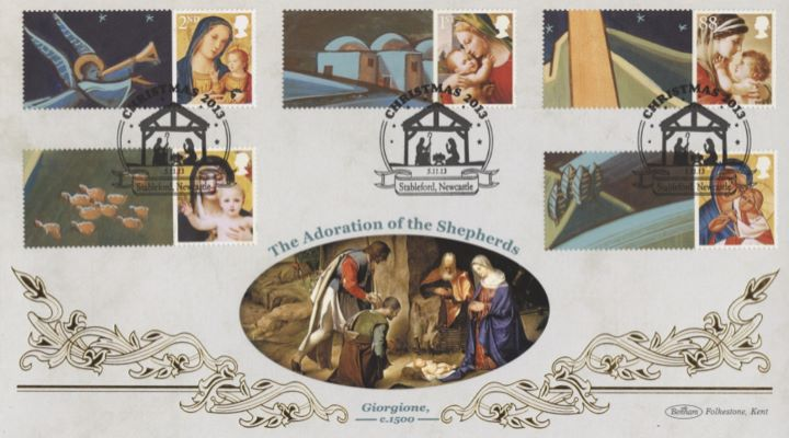 Christmas 2013: Generic Sheet, The Adoration of the Shepherds
