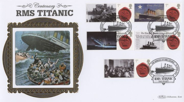 Titanic [Commemorative Sheet], RMS Titanic