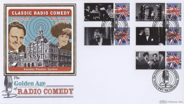 The Goons [Commemorative Sheet], Harry Secombe & Michael Bentine