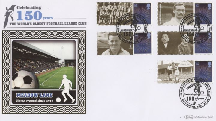 Notts County Football Club [Commemorative Sheet], Meadow Lane