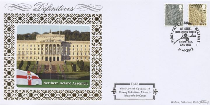 Northern Ireland 87p, £1.28, Northern Ireland Assembly