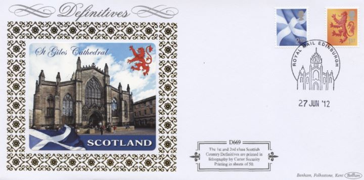 Glorious Scotland: Generic Sheet, St Giles Cathedral