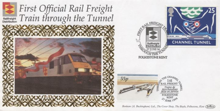 First Official Rail Freight, Channel Tunnel
