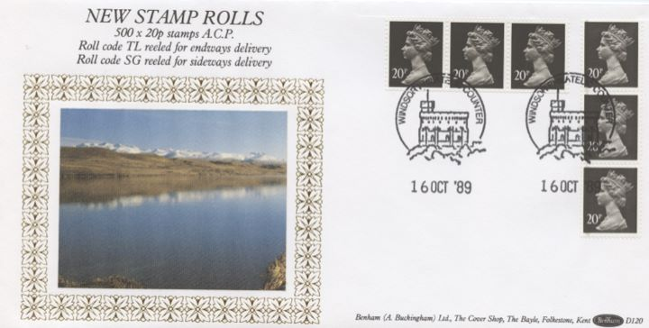 Vending: New Design: £1 Mills 1 (Wicken Fen), New Stamp Rolls