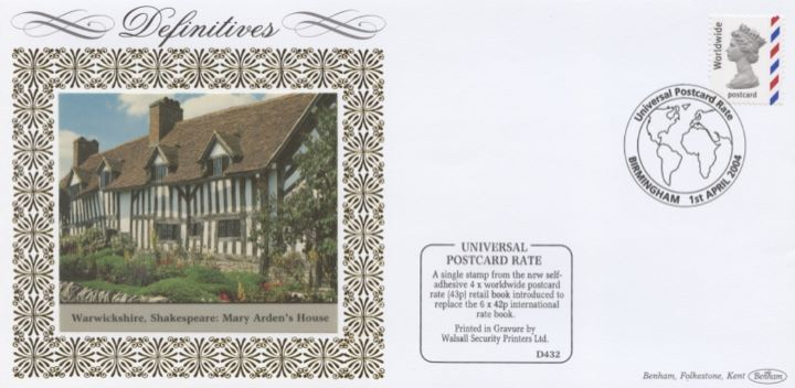 Machins (EP): Postcard, Mary Ardens House