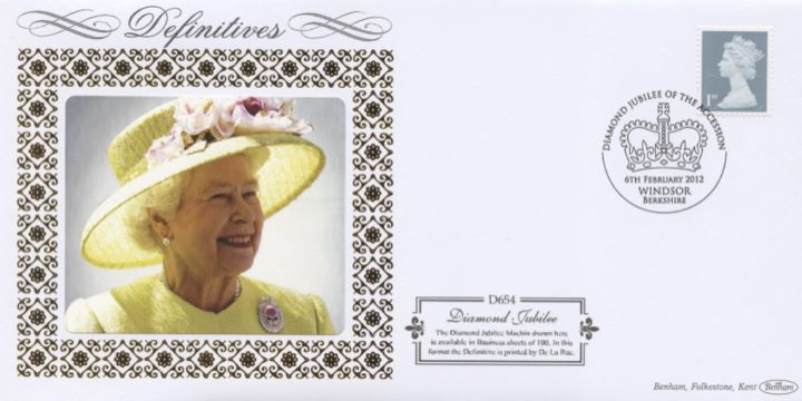 Diamond Jubilee: 1st (Self Ad), HM The Queen