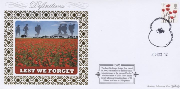 Lest We Forget - Poppies Small Format (Self Ad), Lest We Forget