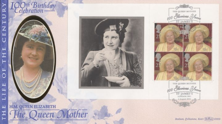 PSB: Queen Mother - Pane 4, Queen Mother