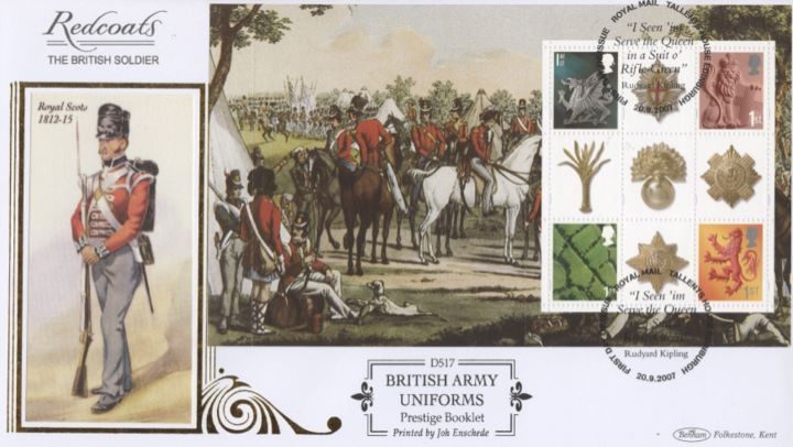 PSB: Army Uniforms - Pane 3, Royal Scots