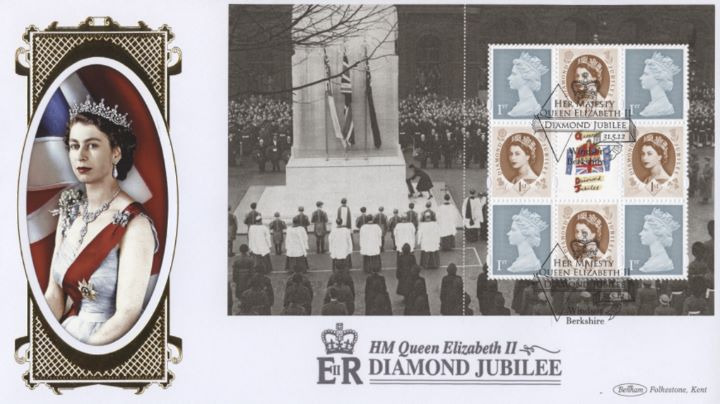 PSB: Diamond Jubilee - Pane 1, HM The Queen