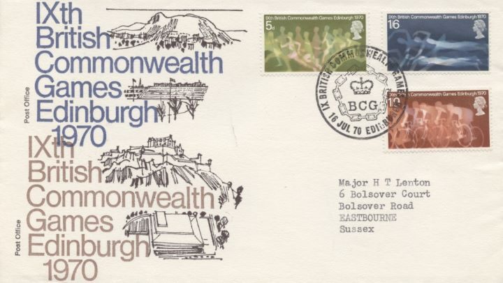 Commonwealth Games 1970, 16th July PM