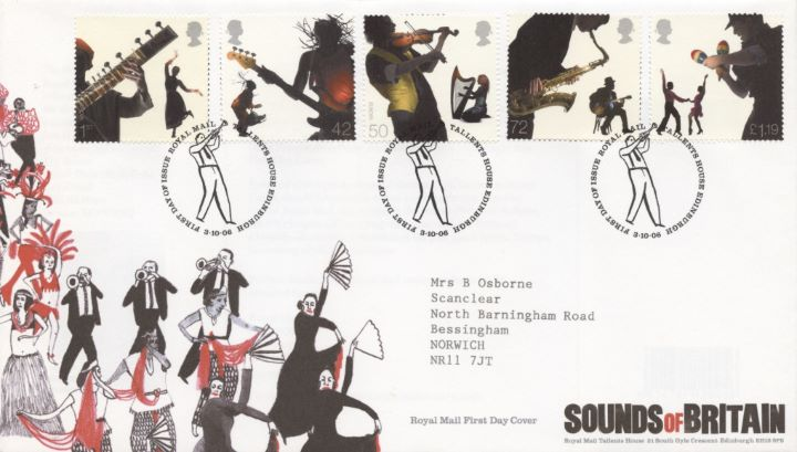 Sounds of Britain, Special Handstamp