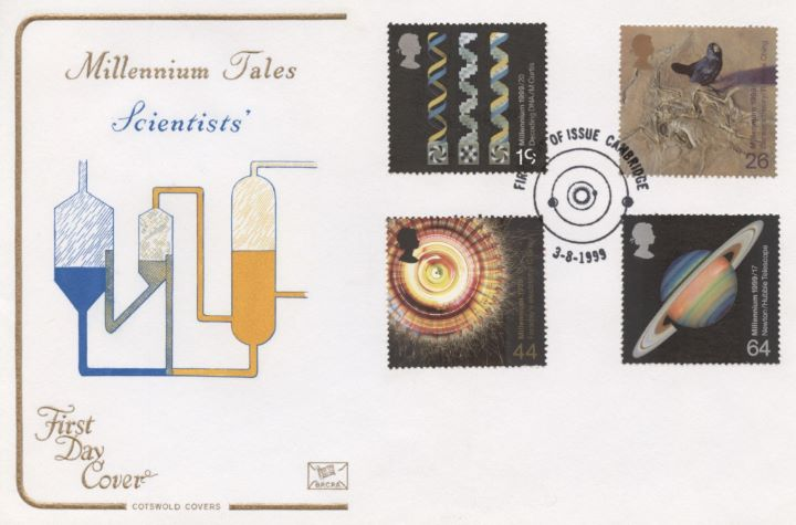 Scientists' Tale, Millennium Cover No. 8