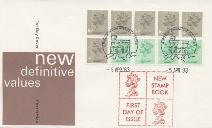 Counter: New Design: £1.46 Postal Hist. 8 (Seahorses), New Setenant Format
