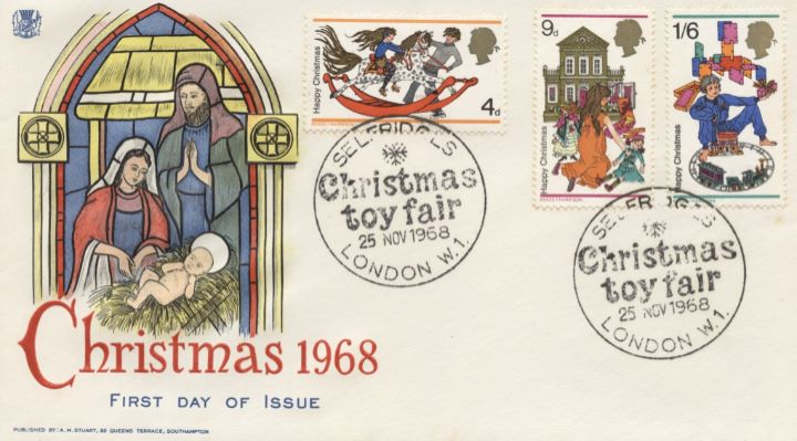 Christmas 1968, Selfridges Postmark
