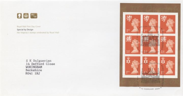 PSB: Special by Design - Pane 2, HM Stamps