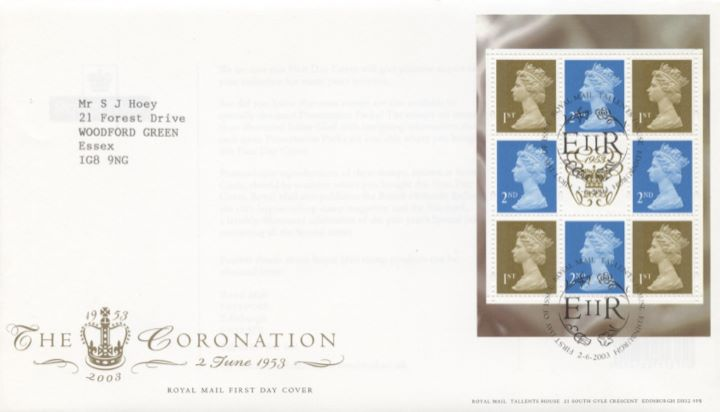 PSB: Coronation - Pane 1, The Coronation